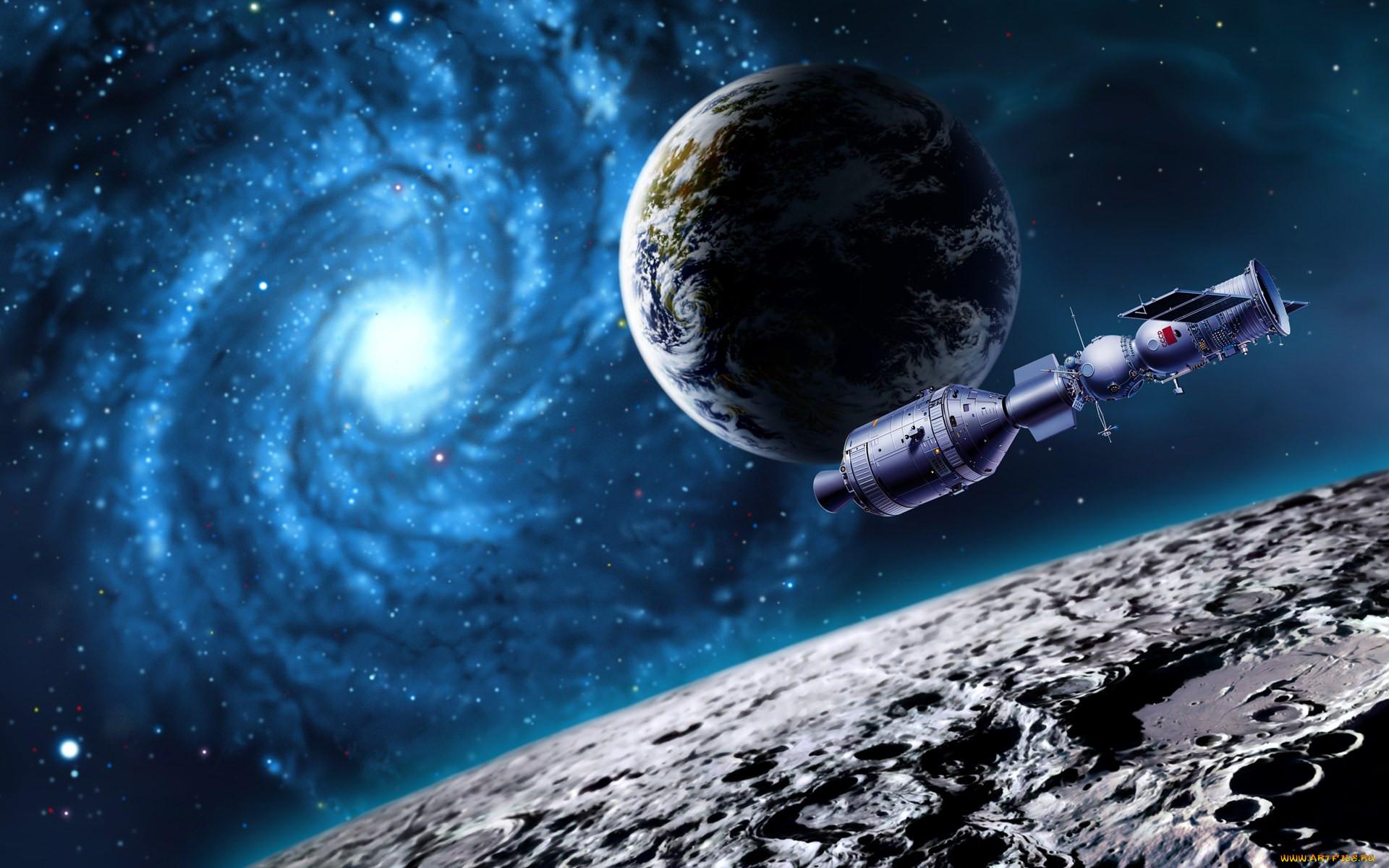 фэнтези, космические корабли,  звездолеты,  станции, космос, корабль, планеты